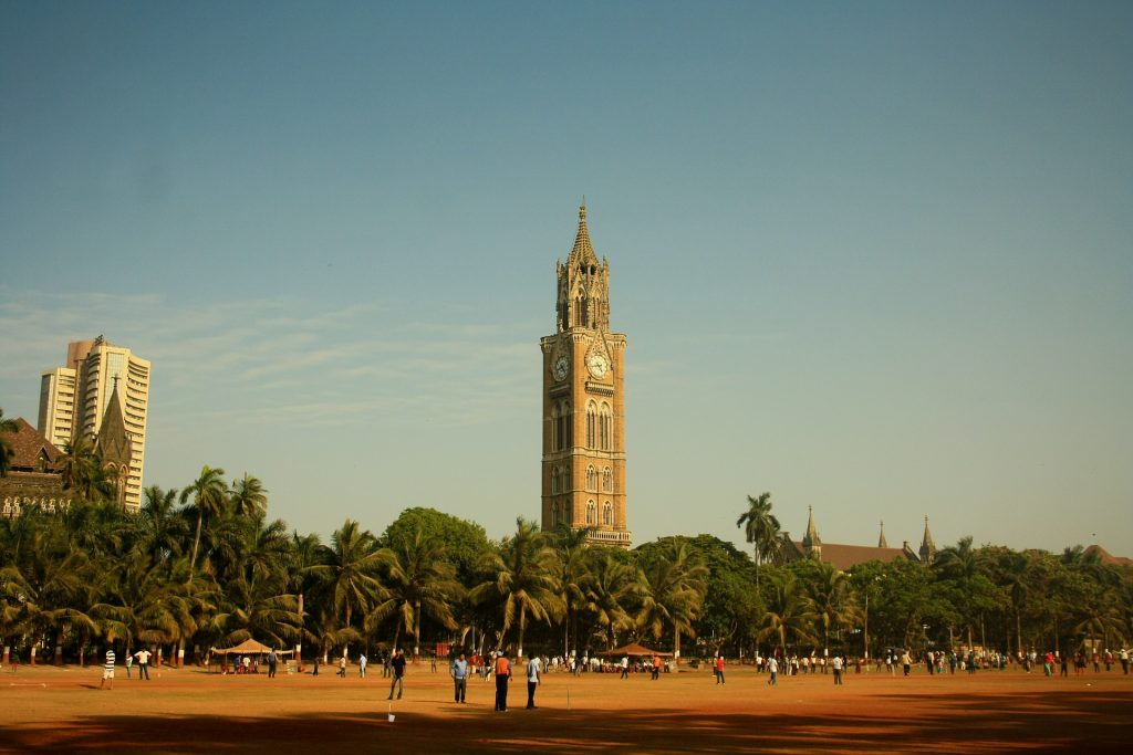 The Clock Tower in Mumbai