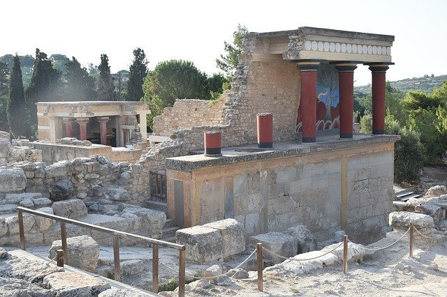The Ancient Ruins of Knossos