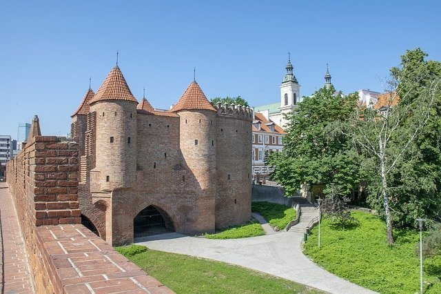 Warsaw Barbican and City Walls