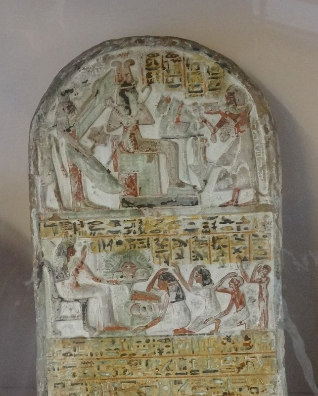 An Ancient Egyptian Tablet at the Museum in Turin