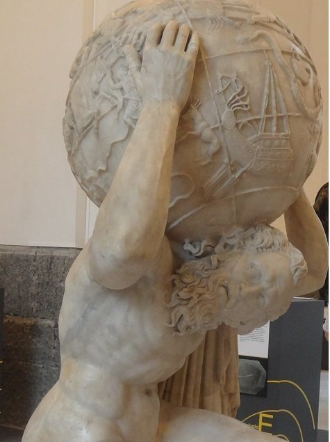 Atlas at the Naples Archaeological Museum