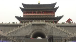 Our Xian Itinerary Xian Bell Tower
