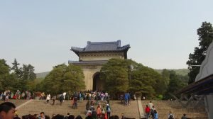 Things to do in Nanjing The Stele Pavilion stands on the route up to the mausoleum