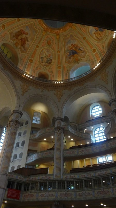 My Favourite European Cities Inside Dresden's FrauenKirche