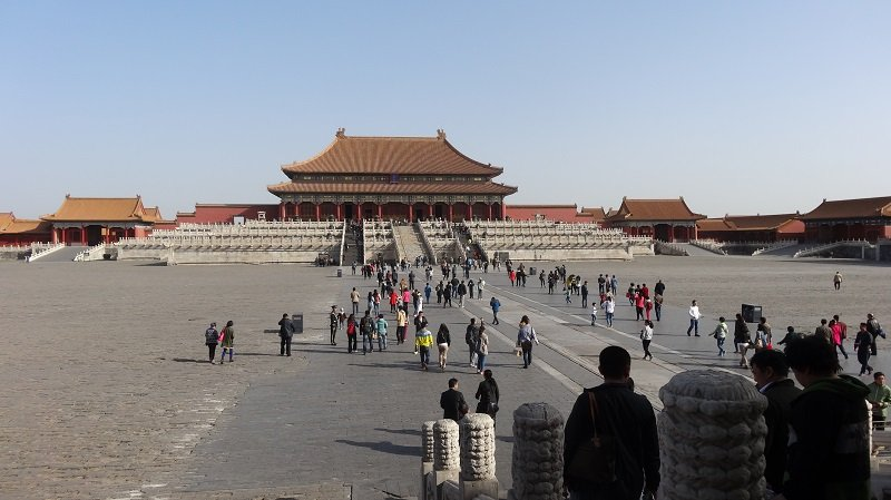 3 Days in Beijing Approaching the Hall of Supreme Harmony