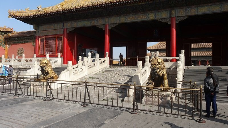 Lions outside the Gate of Heavenly Purity