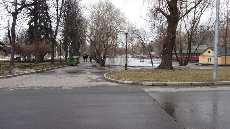 Moscow Sightseeing in Gorky Park