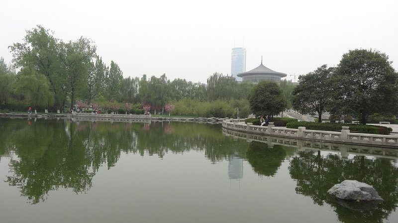 Xian Highlights Gardens near the Shaanxi History Museum