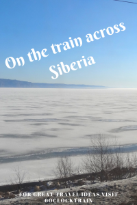 On the train across Siberia