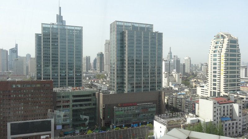 Things to do in Nanjing A mixture of old and new the Nanjing Skyline