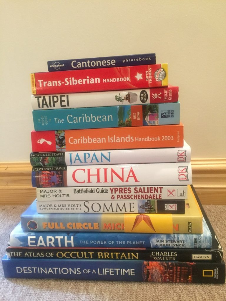 Travel Books make great gifts for someone going travelling
