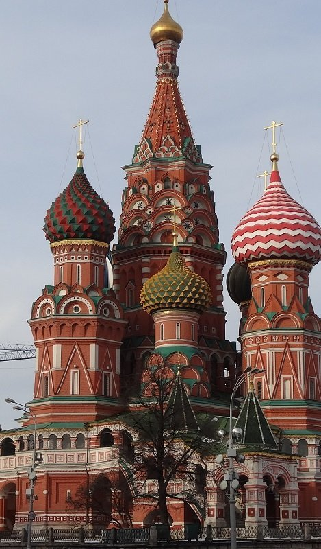 Moscow Sightseeing St Basil's Cathedral Moscow