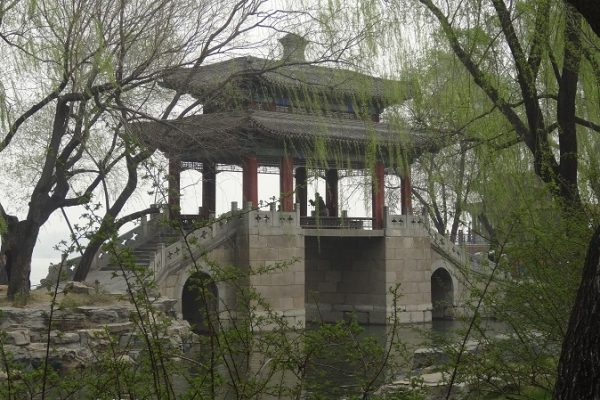 Ornate Bridge at the Summer Palace