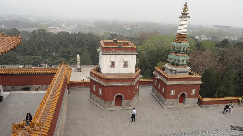 Summer Palace View from the top of Longevity Hill