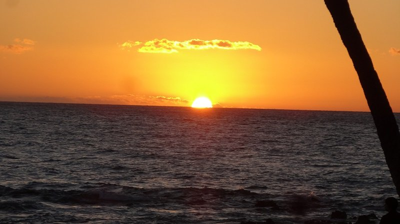 Bucket List Travel Ideas Sunset over Maui Hawaii