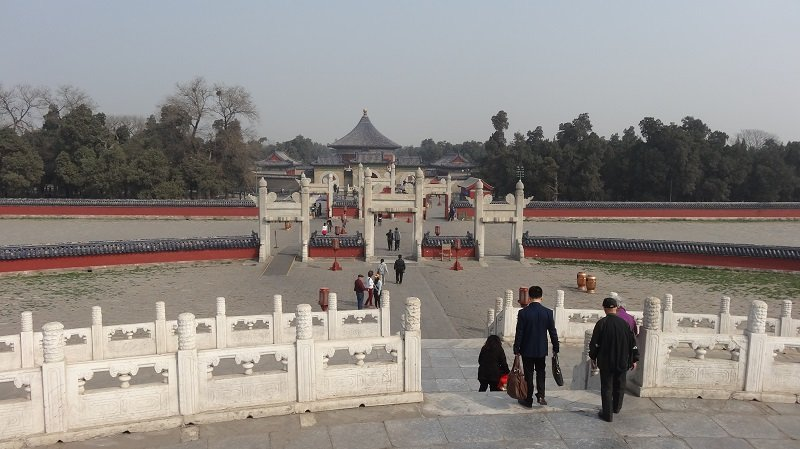 Gates to the Circular Mound Altar at the Temple of Heaven in Beijing