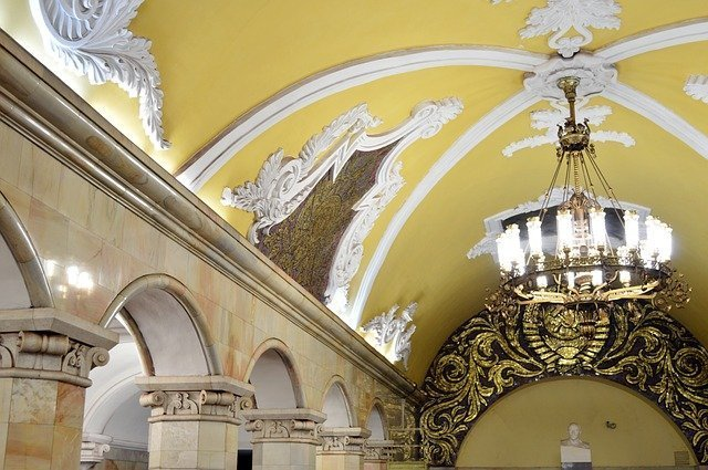 Sightseeing on the Moscow Metro