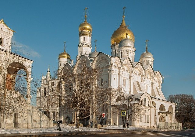 Moscow Sightseeing Cathedral Square