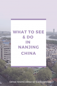 What to see and do in Nanjing, China. A guide to visiting this fascinating Chinese City. Climb Purple Mountain and visit the mausoleum of Dr Sun Yat-Sen, the founder of modern China. Stroll the tree lined walkways or take a boat along Xuanwu Lake. Immerse yourself in Nanjing's tragic past at the Nanjing Massacre Memorial.
