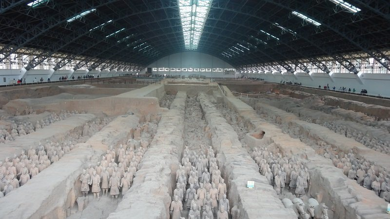 A highlight of our Xian Itinerary The Terracotta Warrior Army