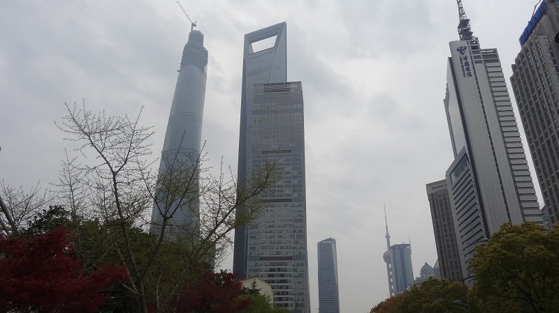 Shanghai World Financial Centre - The Bottle Opener