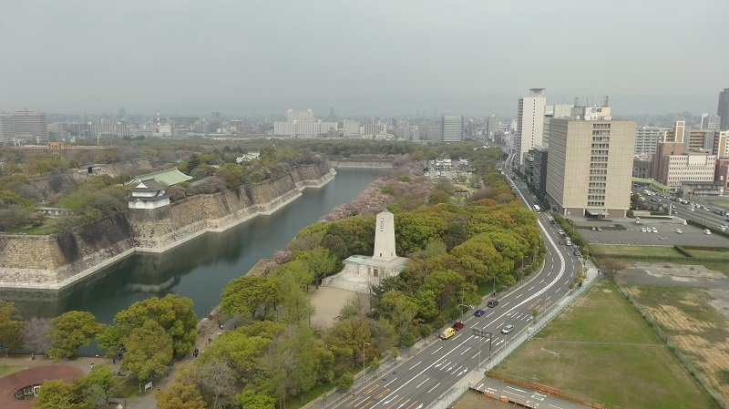 Add the Osaka Museum of HIstory to your Osaka Itinerary for Fabulous Views of the castle and across the city
