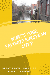 What's your favourite European city?