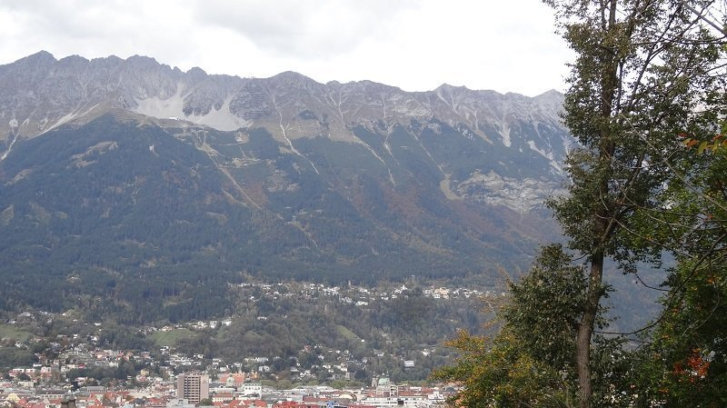 What a stunning backdrop to a city Innsbruck