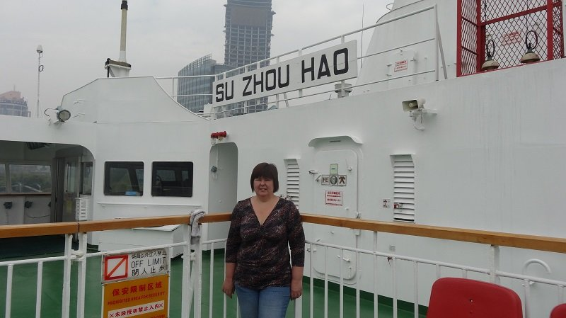 Onboard the Shanghai to Japan Ferry