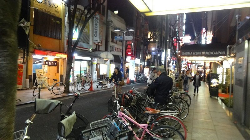 Bikes are available to rent free of charge from reception at the Dotonbori Hotel