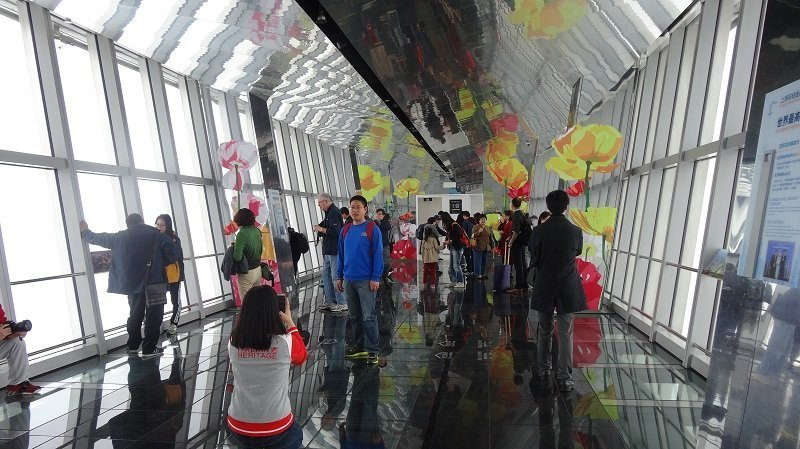 The Viewing Platform of the Shanghai World Financial Centre