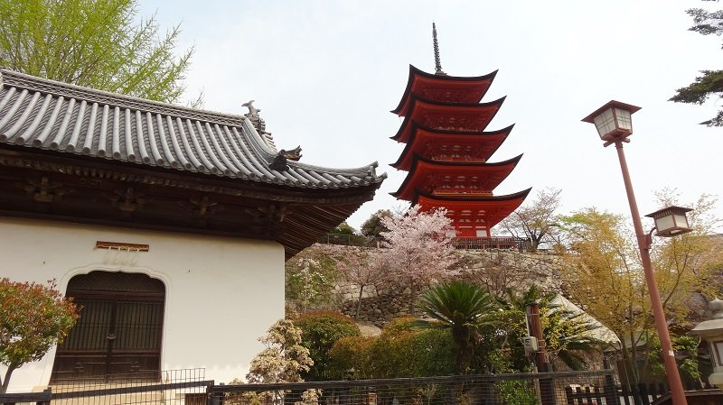 Pagoda on Miyajima Island