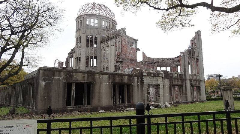 The Atomic Dome at Hiroshima Peace Park