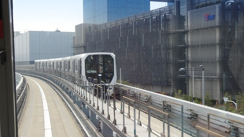 Take a trip on the Automated Yurikamome Line as part of your Tokyo Itinerary
