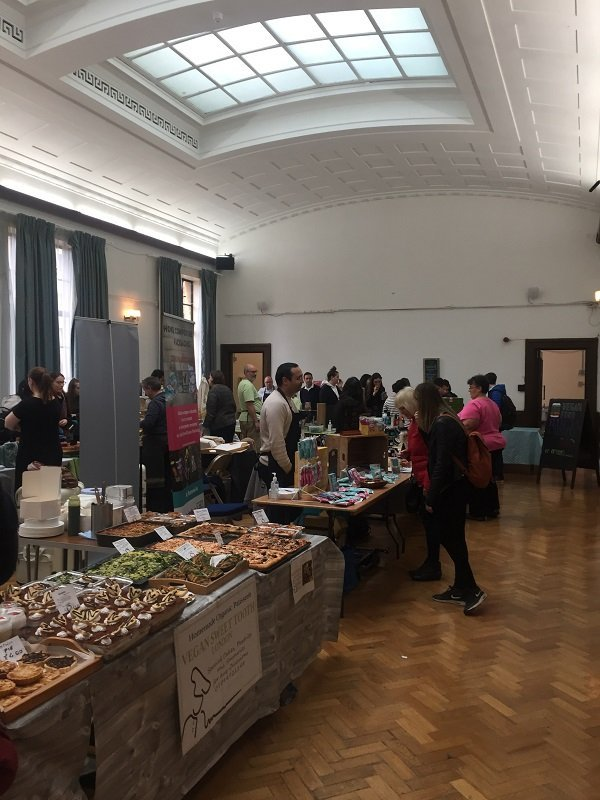 Cambridge Vegan Market at the Guildhall