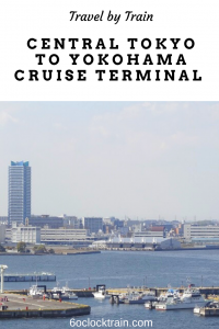 How to travel from Central Tokyo to Yokohama Cruise Terminal by train. Travelling by train in Japan is comfortable and efficient. Start your cruise the easy way with our how to guide. #Japan #YokohamaCruise