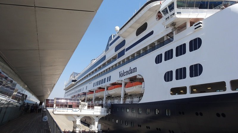 Holland America Volendam Cruise Ship