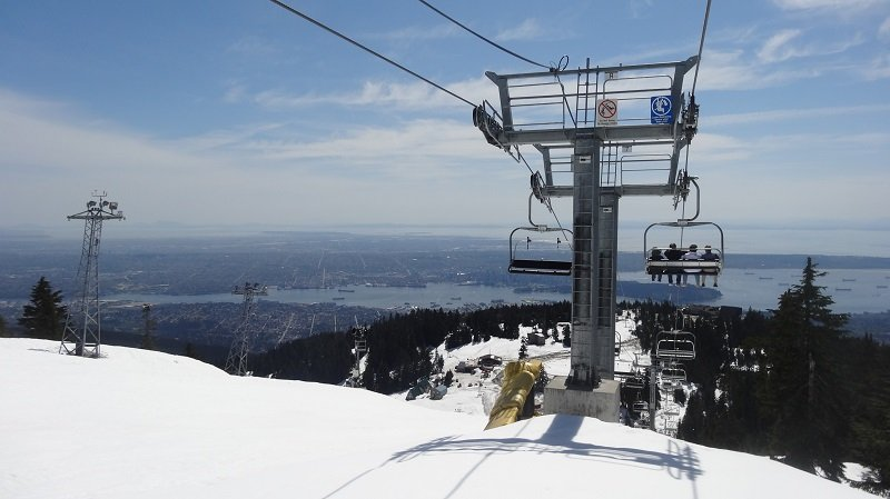 2 Days in Vancouver Getting to the Eye of the Wind by Ski Lift