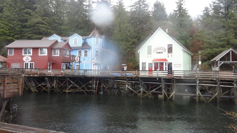 Ketchican Cruise Port Creek Street Ketchikan
