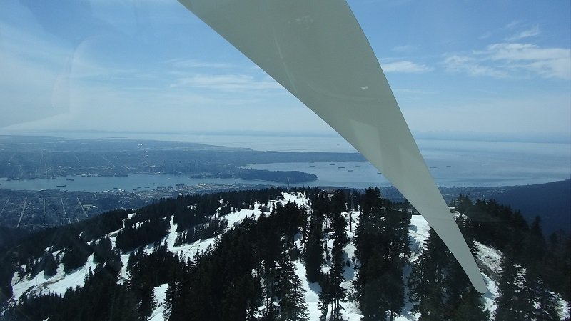 View from Inside the Wind Turbine