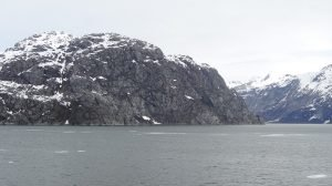 Scenic cruising in Glacier Bay Alaska