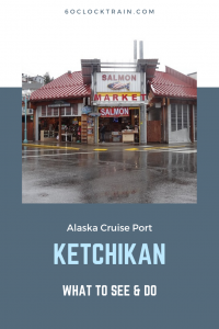 Take a walking tour around Ketchikan Cruise Port. Discover its links to salmon, gold mining and totem poles as you stroll around this picturesque port. #Alaska #Ketchikan