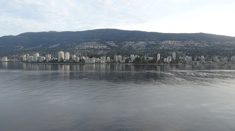 We started our 2 Days in Vancouver by sailing past this amazing scenery