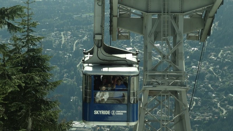 2 Days in Vancouver The Sky Ride at Grouse Mountain