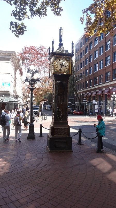 2 Days in Vancouver the Steam Clock