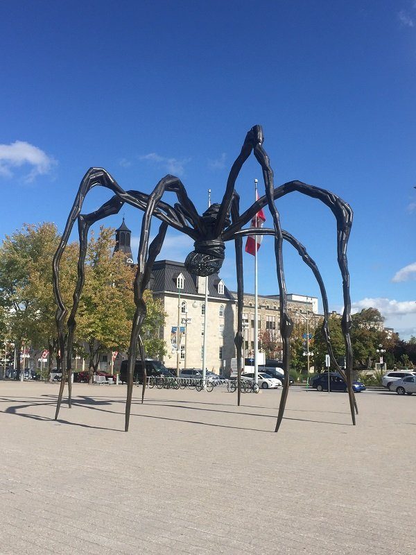Maman at the National Gallery of Canada