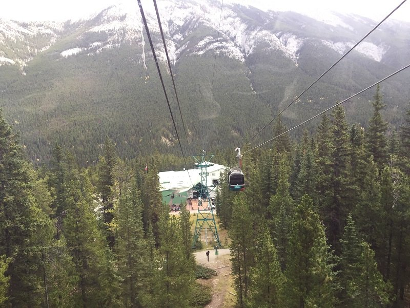 Ride the Banff Gondola on Sulphur Mountain during your 2 Days in Banff