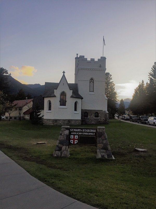 St Mary & St George Church in Jasper
