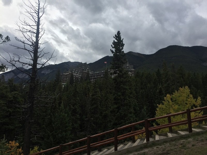 We saw Fairmont Banff Springs Hotel during our 2 Days in Banff