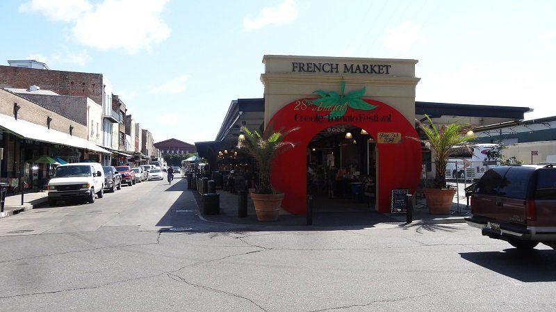 Seattle to Florida Road Trip The French Market in New Orleans